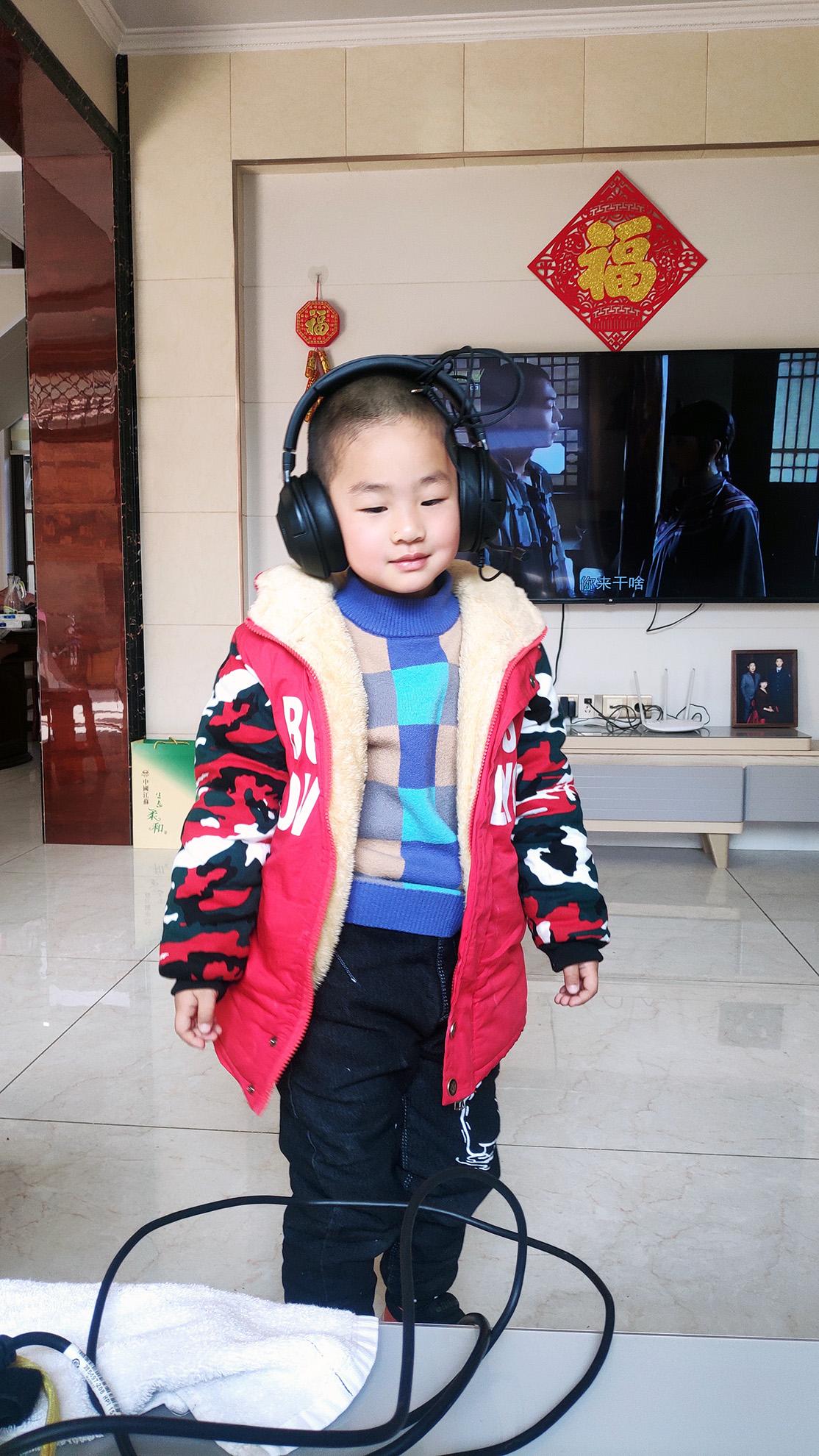 哥哥的耳机